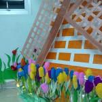 Kreatif: Hollad Tulipe Park karya mahasantri ABA